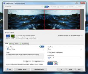 Configuring DisplayFusion