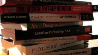 Textbooks (image courtesy of Flickr user bgottsab)