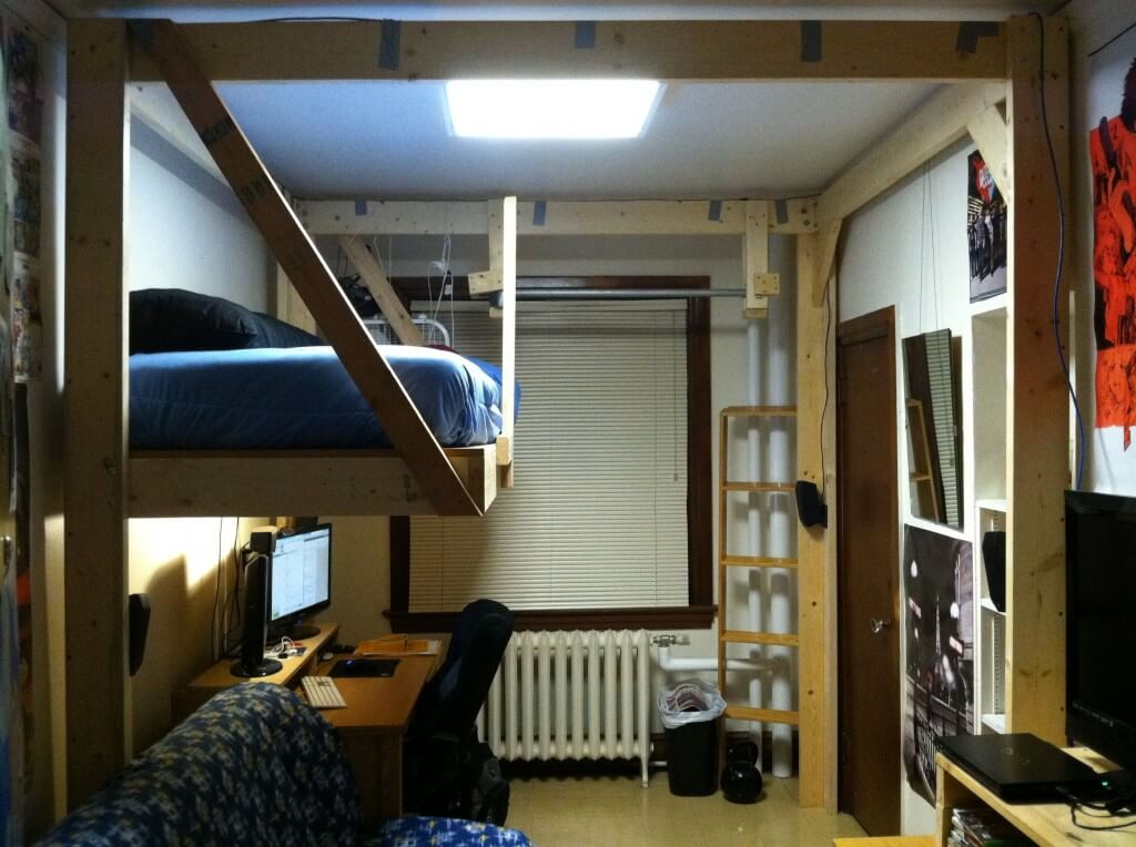 How To Build The Ultimate Hanging Loft Bed