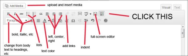 WordPress Editing Tools