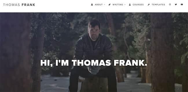 Thomas Frank's Personal Website - 2021
