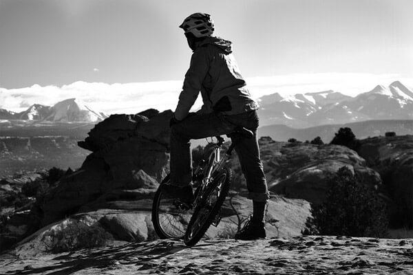 Biking (image courtesy of Flickr user Zach Dischner)