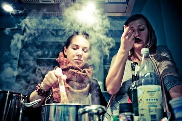 Cooking (image courtesy of Flickr user d3n3v3r)