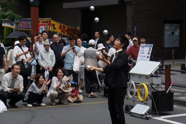 Street parade on a Saturday, just cuz.