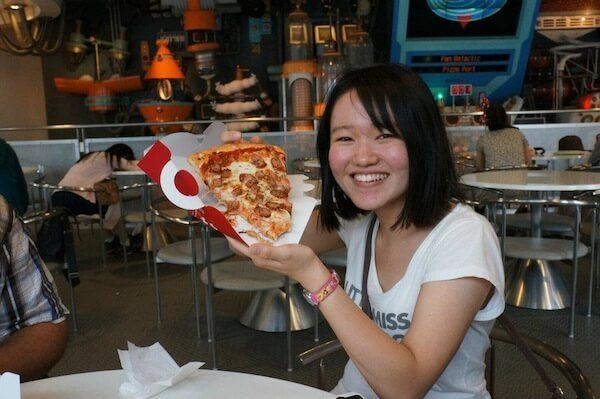 Yup, there's pizza in Japan - but the sausage is weird.