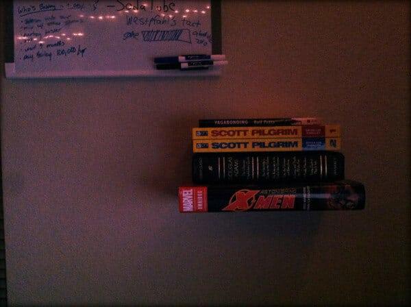 new bookshelf