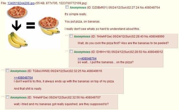 pizzabanana