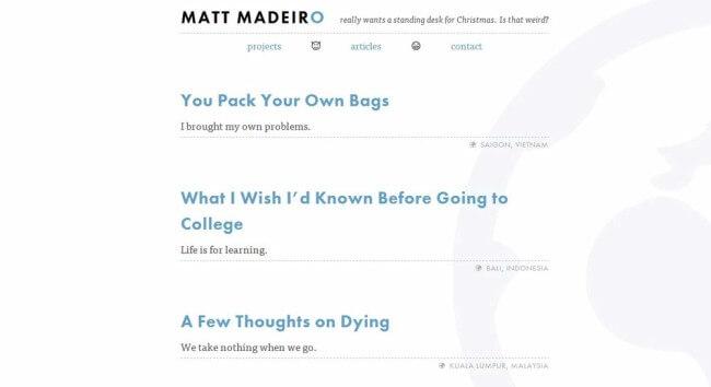 Matt Madiero