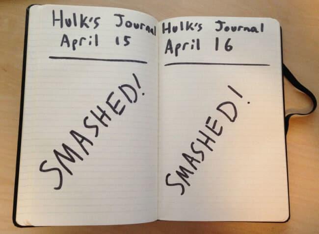 hulksjournal