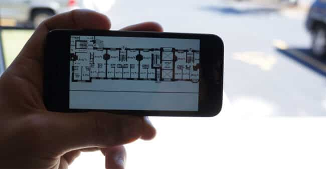 How to use campus building floor plans to find your classes