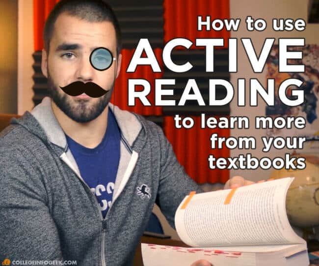 How to learn more from your textbooks using active reading strategies