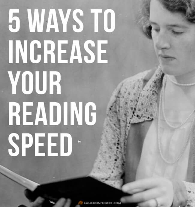 5 Ways You Can ACTUALLY Increase Your Reading Speed