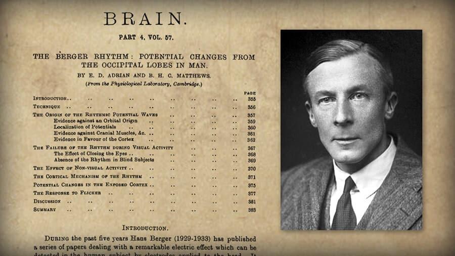 Edgar Adrian - EEG