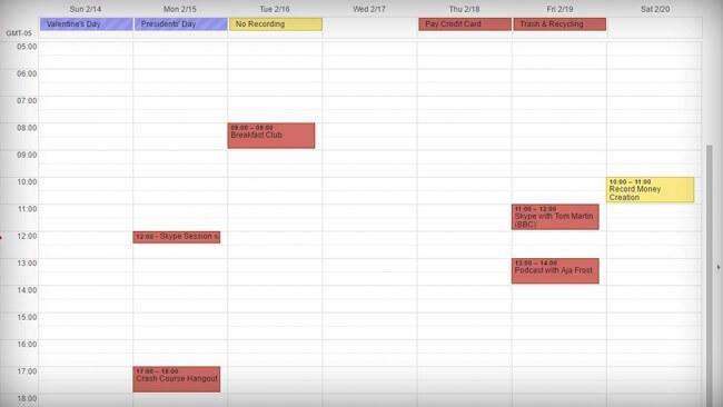Calendar - Today