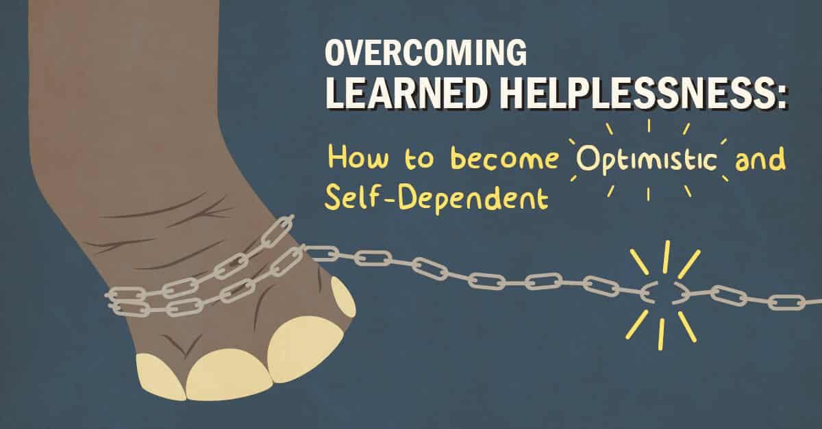 learned helplessness college info geek