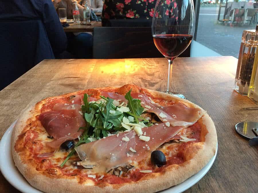 Delicious Pizza in Amsterdam!
