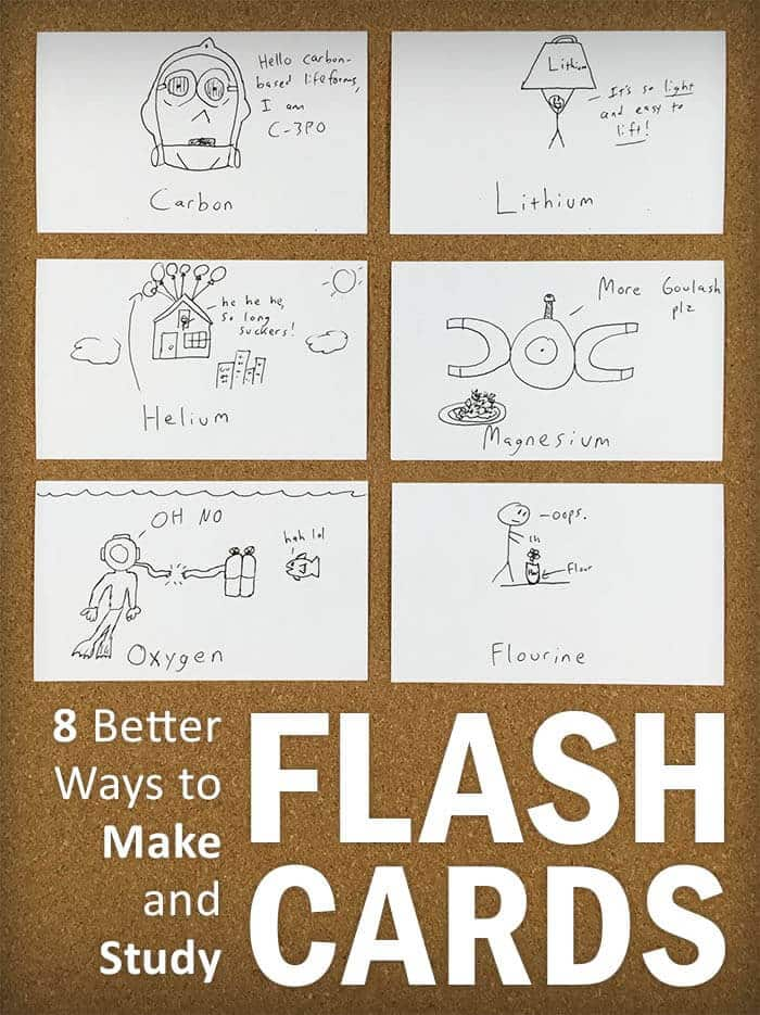 8 Better Ways To Make And Study Flash Cards College Info