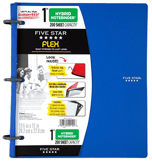 Five Star Flex NoteBinder