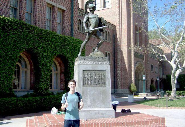 usc-campus-visit