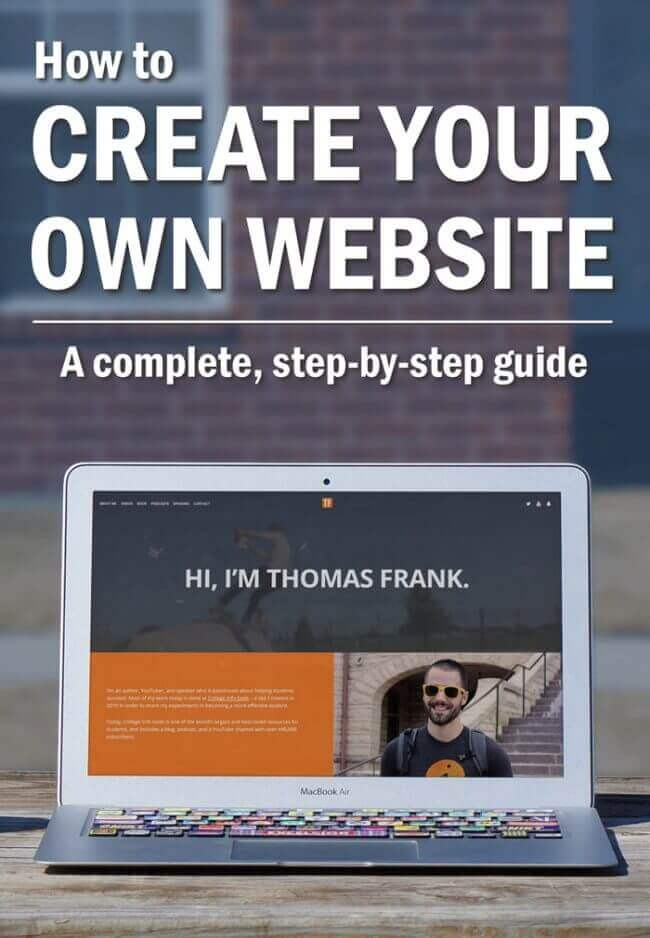 The ultimate guide to building your own website