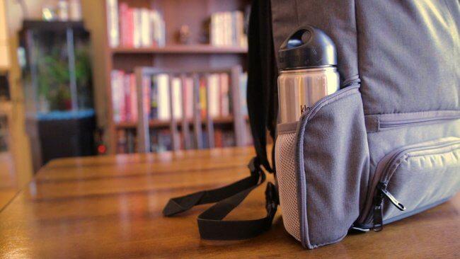 Backpack Water Bottle Holder