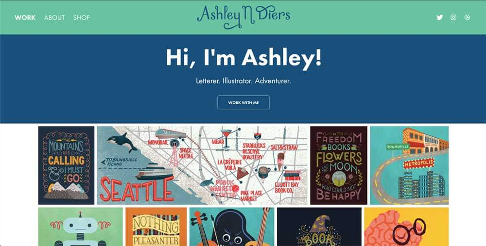 Ashley Diers' personal website