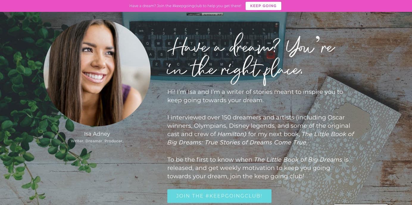 Isa Adney Website