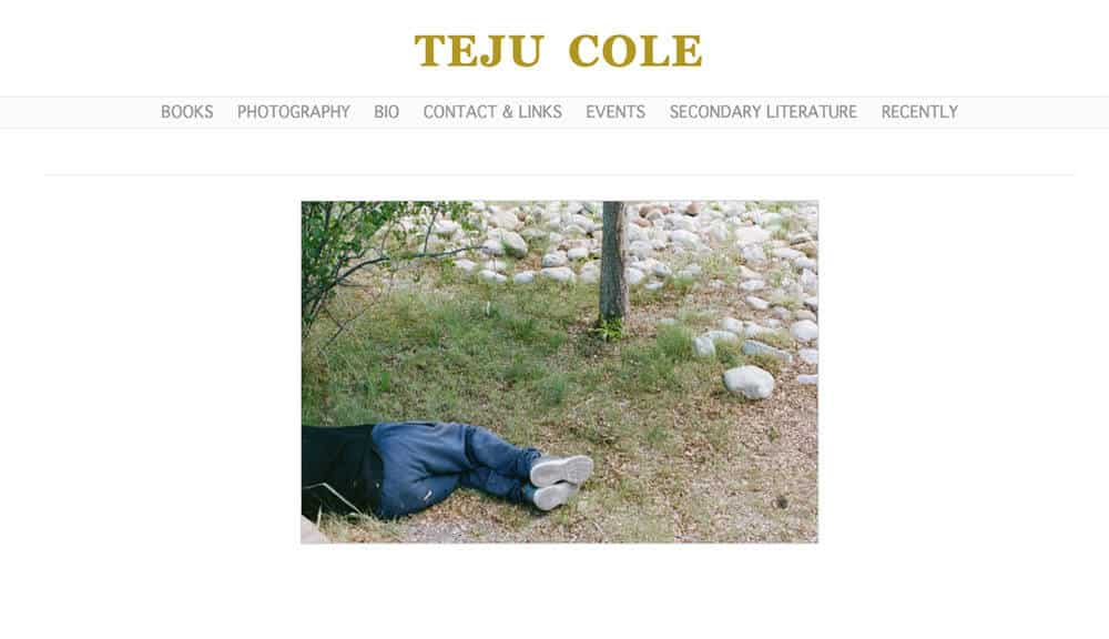 Teju Cole's personal website