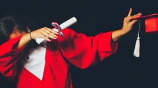 graduate dabbing