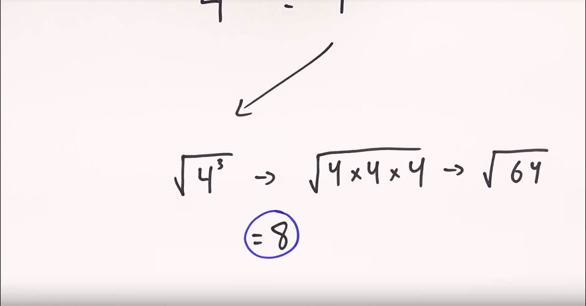 solution to the fractional exponent problem