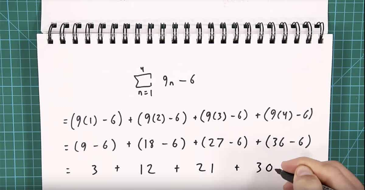solving the summation problem by itself