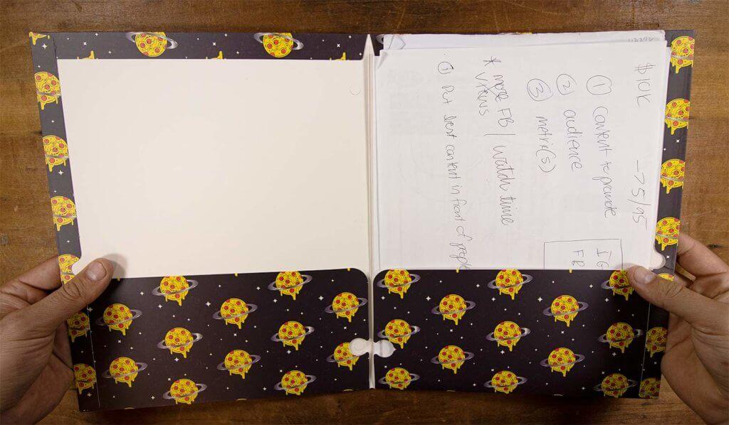 Single folder