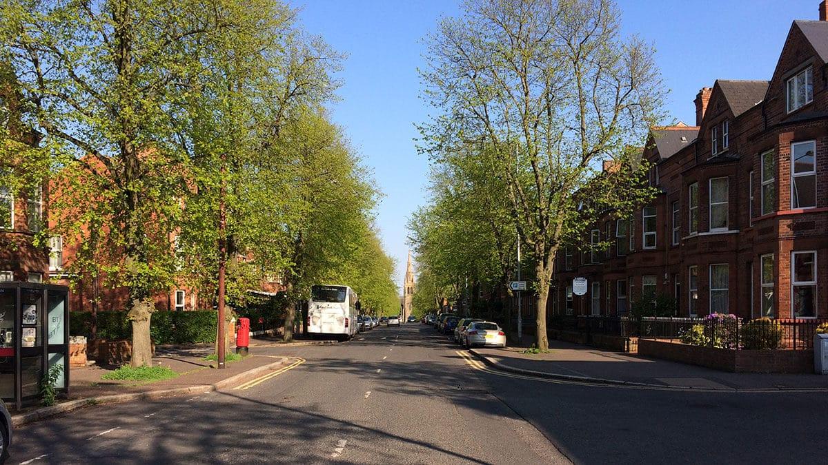 Street scene in Belfast