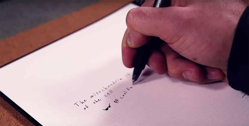 Writing in Rocketbook