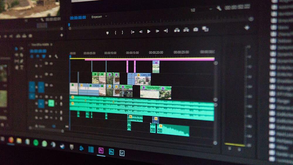 Editing video in Adobe Premiere