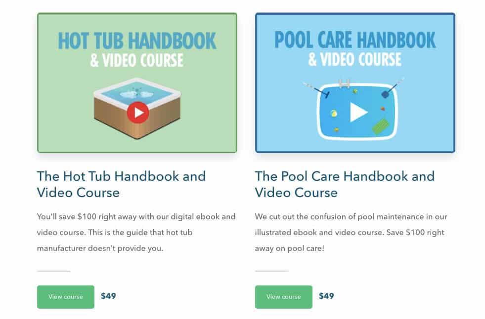 Swim University Courses