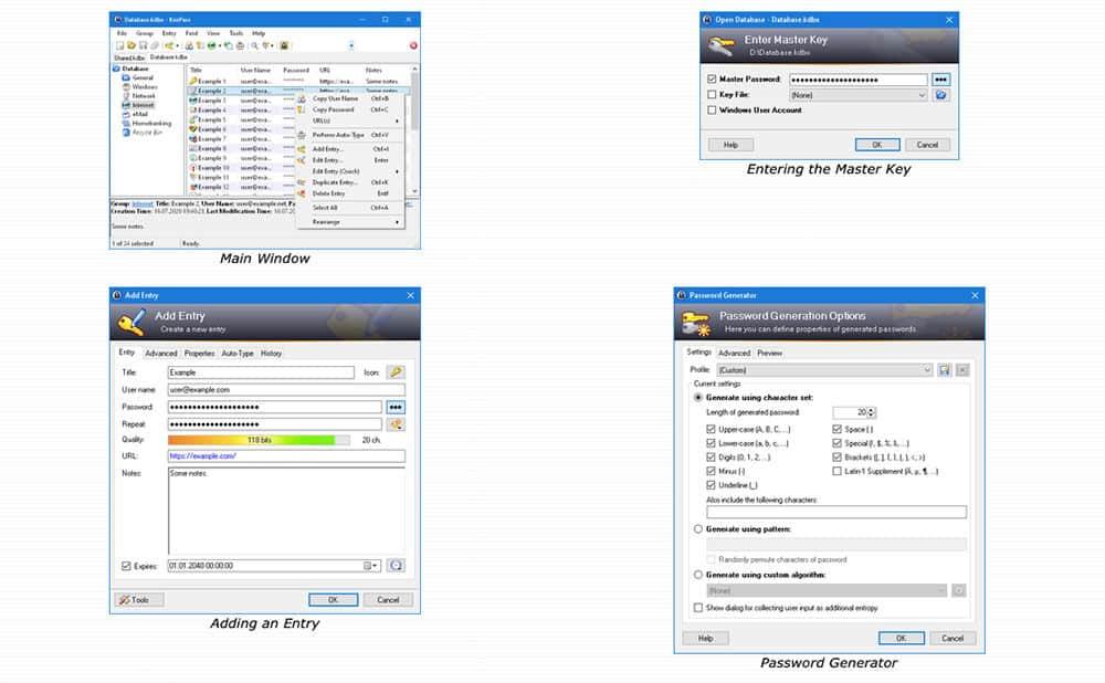 KeePass screenshot