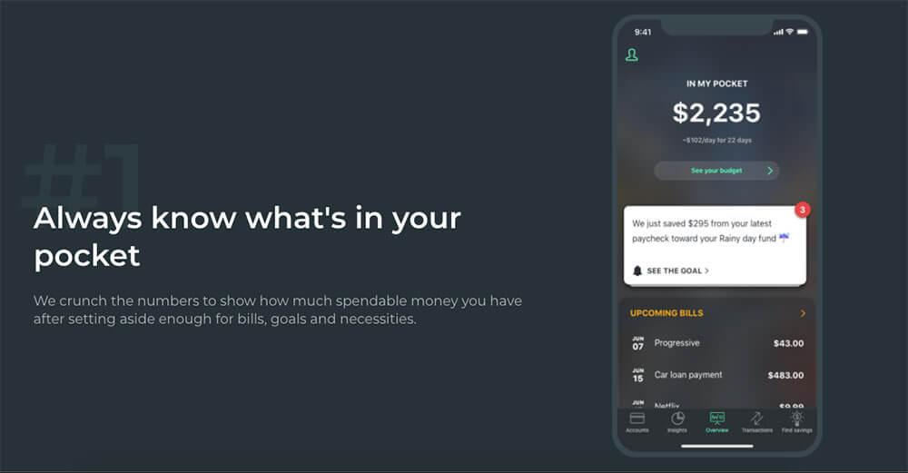 PocketGuard screenshot