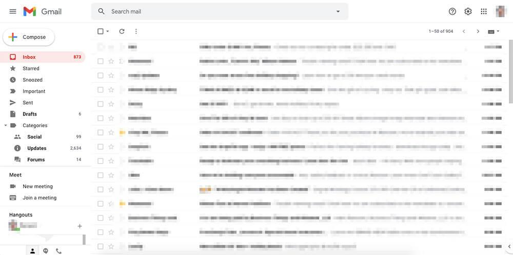 Gmail interface screenshot