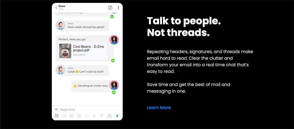 Spike app screenshot