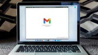 Gmail web app loading on MacBook Pro